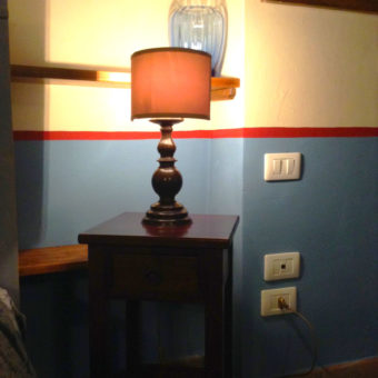 apartment-blue-lamp-on-table