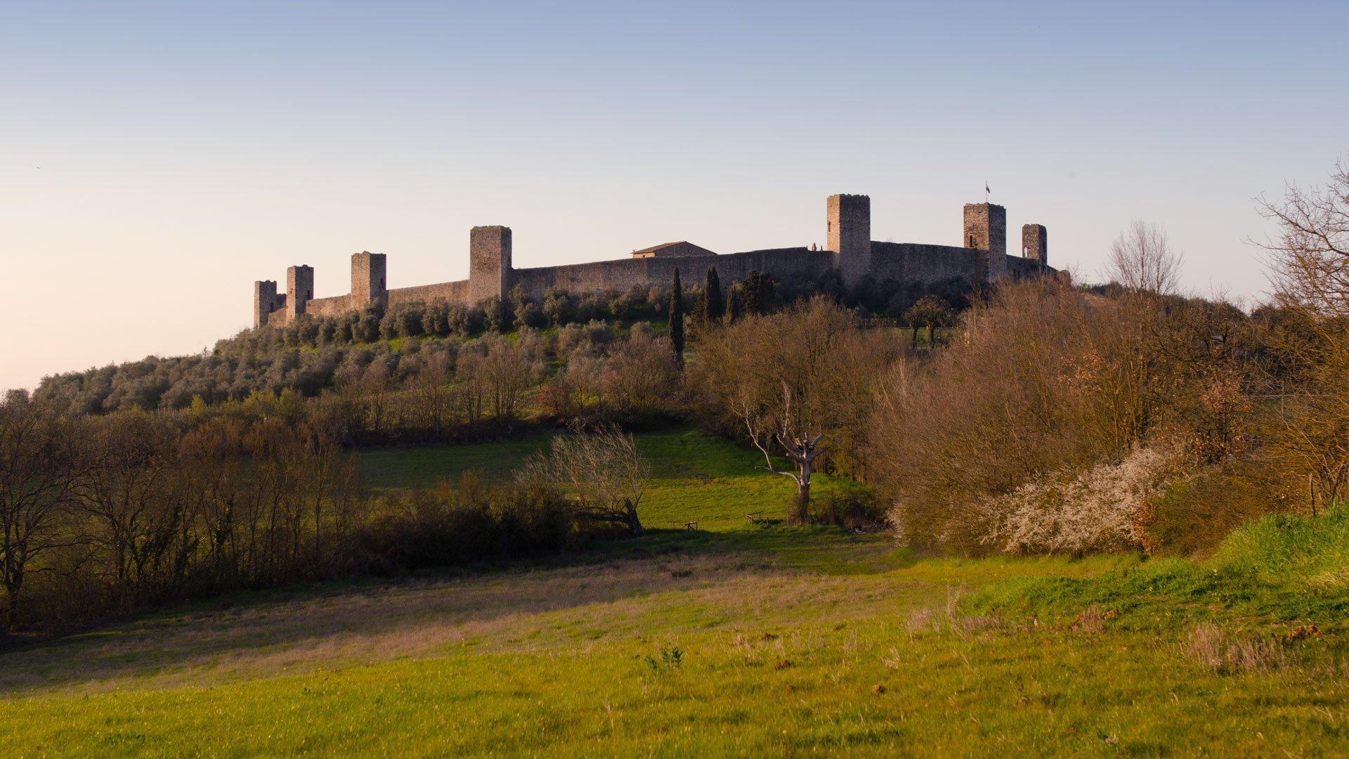 Monteriggioni's Castle