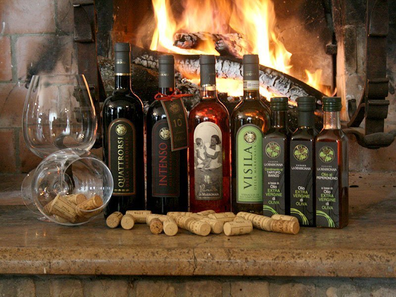 Organic wines and extra virgin oil from Tuscany