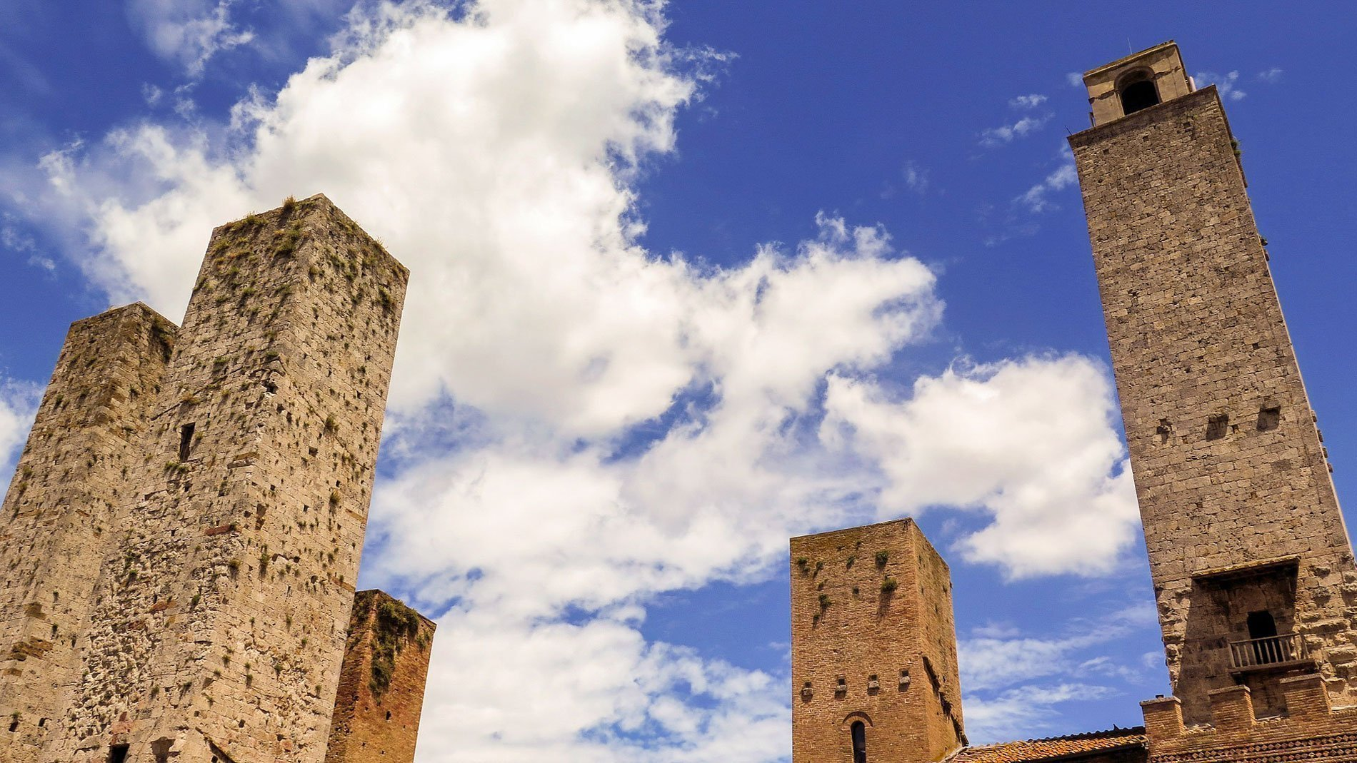 San Gimignano towers in Tuscany