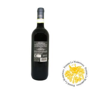 Organic italian red wine Chianti Colli Senesi DOCG