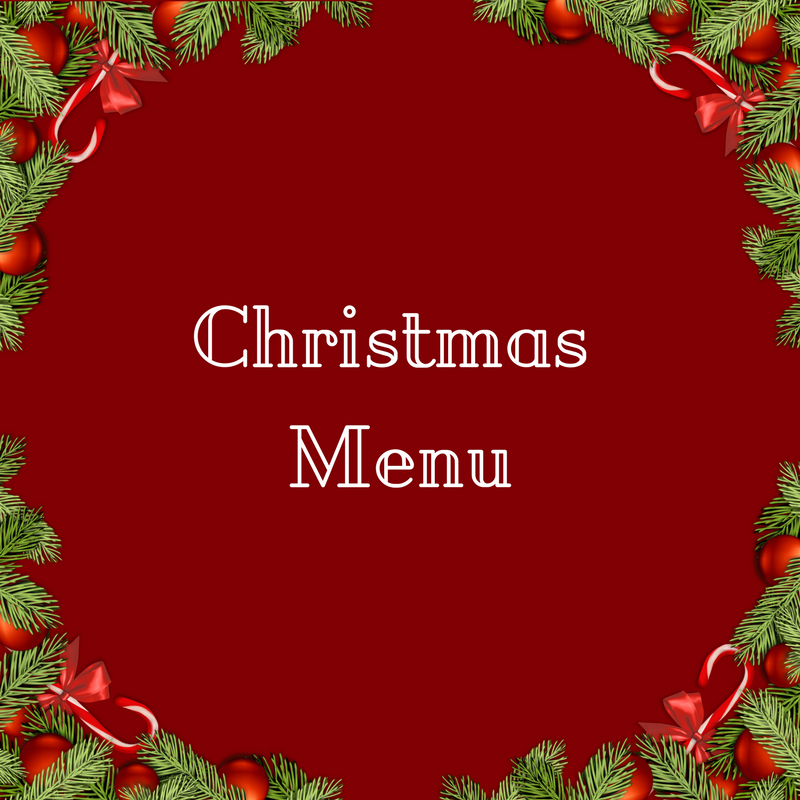 Chrismas Menu - La Marronaia -