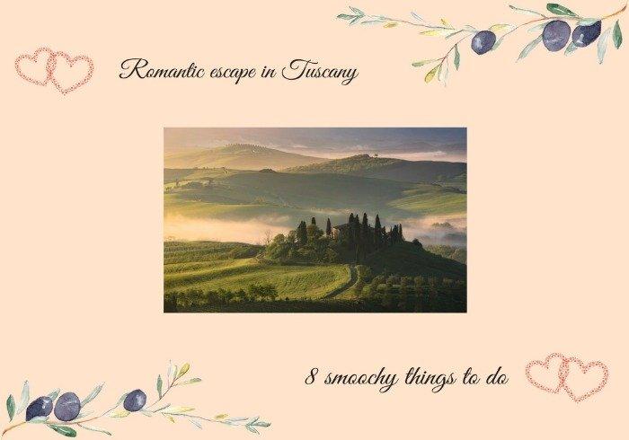Romantic escape in Tuscany 1 - La Marronaia -