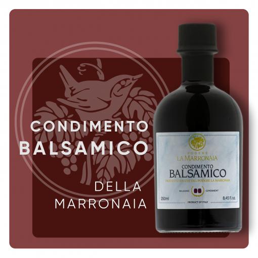 condimento balsamico marronaia