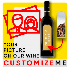 Customized Wine Bottle
