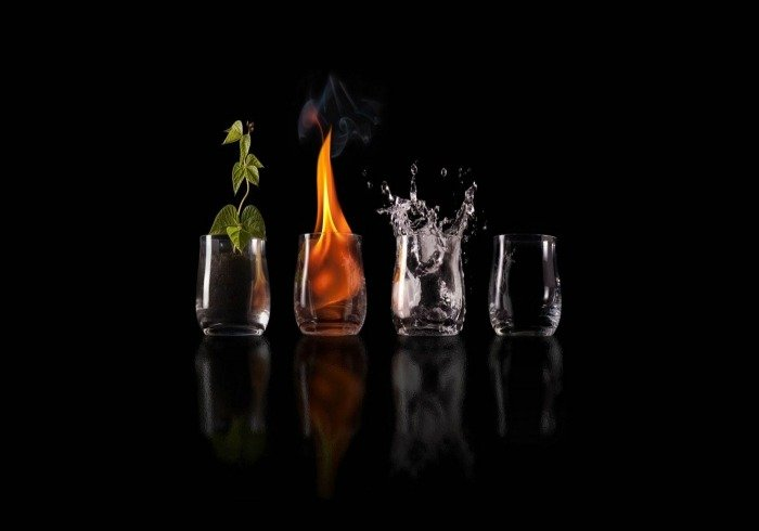 The 4 Elements: Earth, Fire, Water, Air