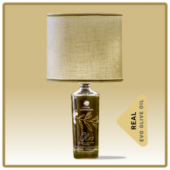 MARRONAIA OLIVE OIL LAMP MADE FROM BOTTLE