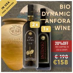 Vernaccia Wine in Terracotta Amphora