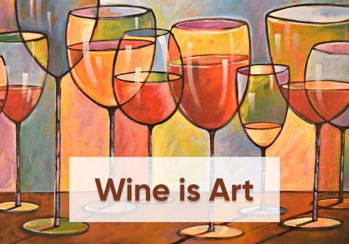 wine art cover - La Marronaia -