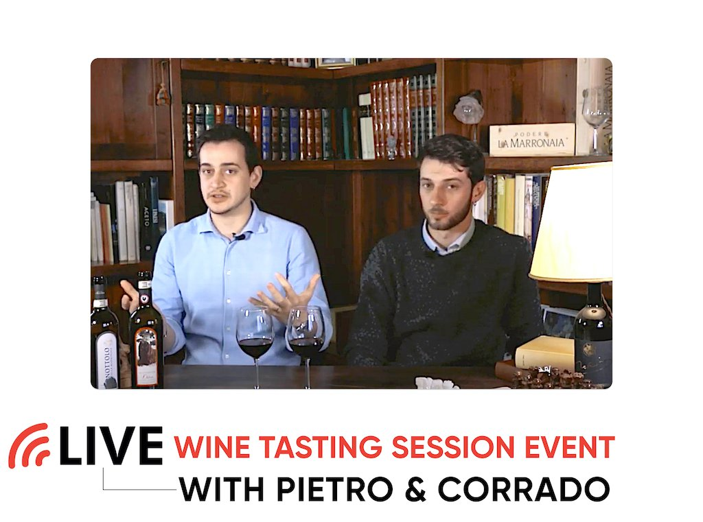 Wine Tasting Live Sessions from Tuscany, San Gimignano