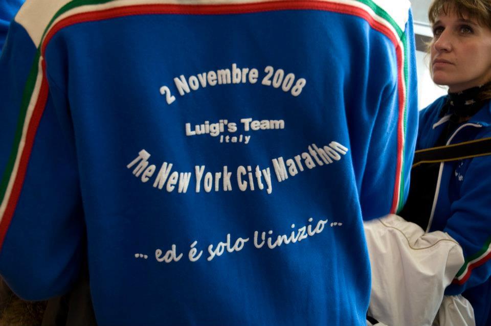 luigs team felpa - La Marronaia - new york